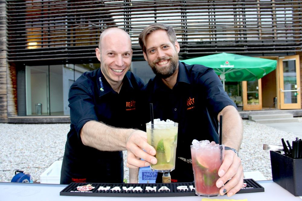 Cocktail Catering mit mobiler Bar